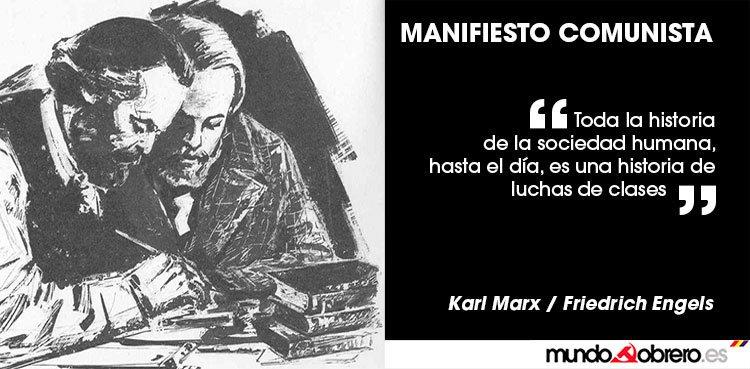 Pca Breve Comentario Sobre El Manifiesto Comunista De Karl Marx Y Friedrich Engels
